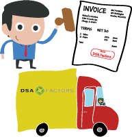 Ship and invoice your customer
