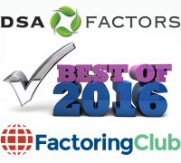 DSA Factors Named Best Factoring Company