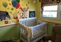 Nursery with Crib
