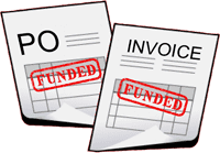 Purchase Order Financing and Accounts Receivable Factoring can work together to fund your business.
